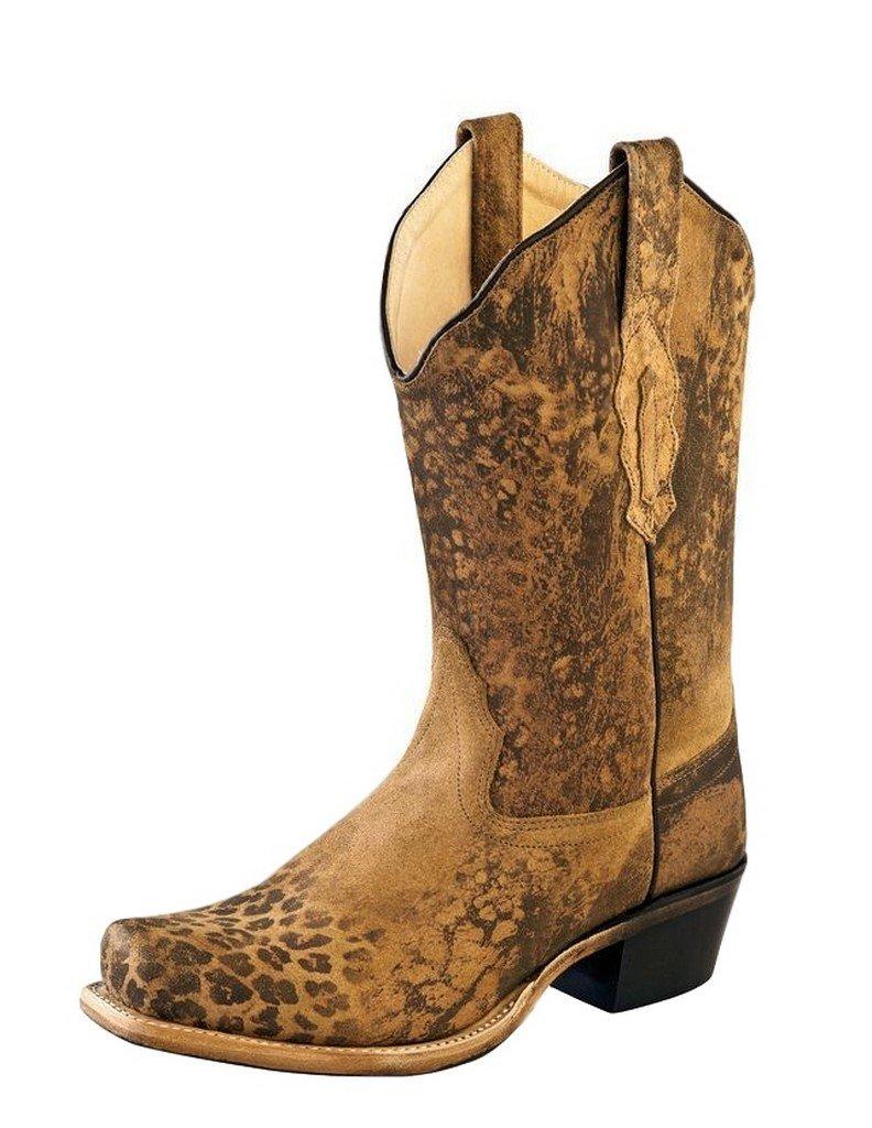 Old West Boots Womens 18009 B01C8GH718 7.5 B(M) US Leopard Print