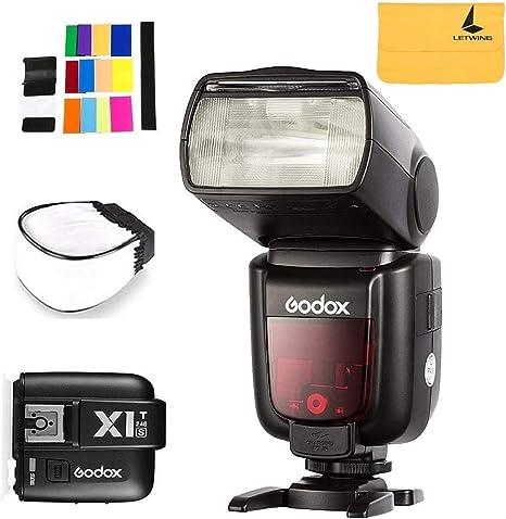 Godox TT685S TTL 2.4G HSS 1/8000s Flash Speedlite + Godox X1T-S ...