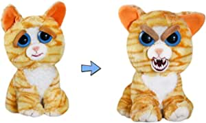 Feisty Pets Princess Pottymouth Adorable Plush Stuffed Cat that Turns Feisty with a Squeeze