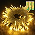 Loyps Solar Globe String Lights 30 LED 21ft 8 Mode Outdoor Bubble Crystal Ball Christmas Decoration Waterproof Solar Powered Fairy Lights for Xmas Garden Patio Home Holiday Party Wedding (Warm White)