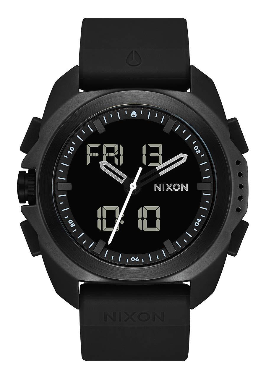 NIXON Ripley A1267 - Black PU Analog Digital Watch by NIXON