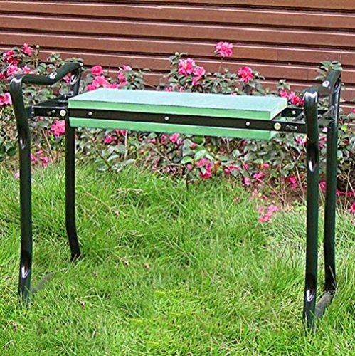 Garten Sitz- und Kniebank Bank Gartenbank Sitzbank