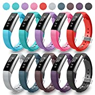 GreenInsync Compatible Fitbit Alta Bands, Replacement for Fitbit Alta Accessory Band Small/Large Bracelet Straps for Fitbit Alta&Alta HR/Fitbit Ace Wristbands for Women Men Boys Girls