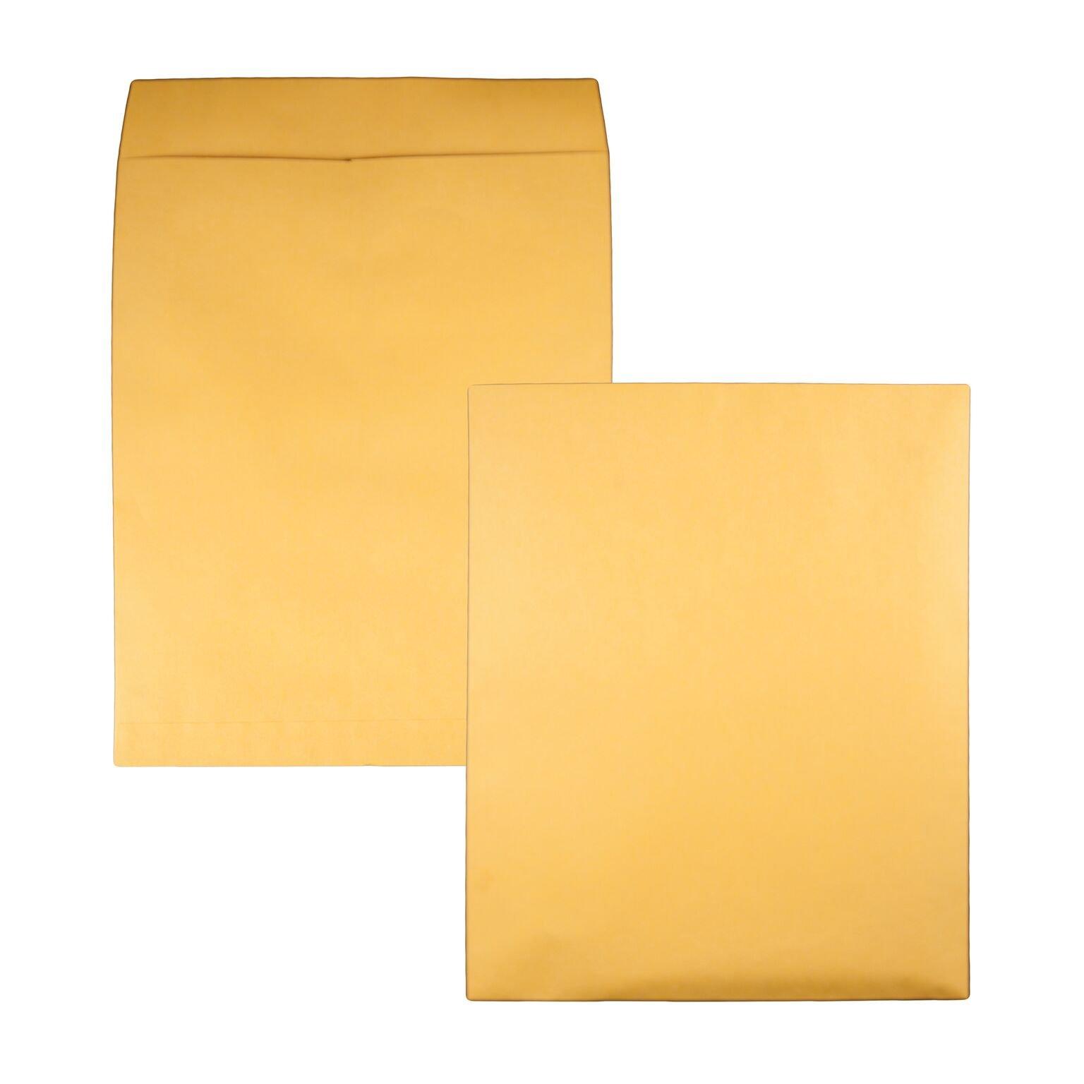 Quality Park,Jumbo Kraft Envelopes, Ungummed, Brown Kraft, 14x18, 25 per box (42354)