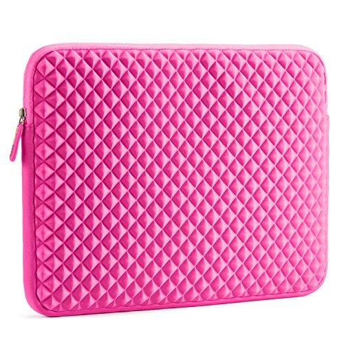 laptop-sleeve-evecase-15inch-156-inch-diamond-foam-splash-shock-resistant-neoprene-universal-sleeve-
