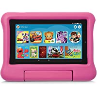 Kid-Proof Case for Fire 7 Tablet (Compatible with 9th Generation Tablet, 2019 Release), Pink