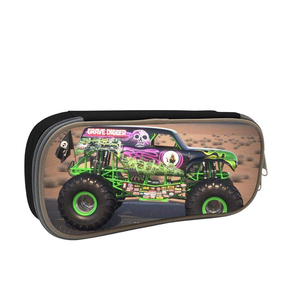 PLiPLi Gr-ave Di-gger Truck Fashion Design Pen Bag//Pencil Case//Pencil-Box
