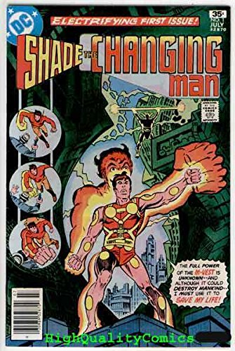 - SHADE #1, VF/NM, Steve Ditko, 1977, 1st Apperance, the Changing Man