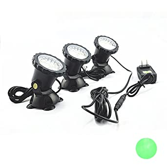 Spotlight, cooso impermeable 36 LED sumergible foco horizontal para Acuario Fish Tank, fuente de