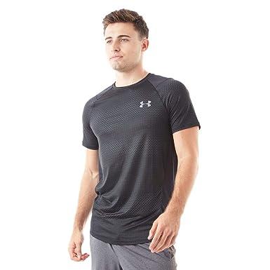 low priced huge sale greatvarieties Under Armour Mens Mens MK1 SS EU T-Shirt in Black - S