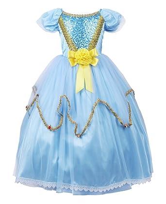 JerrisApparel JerrisApparel Prinzessin Kleid Kostüm Cosplay Partei ...