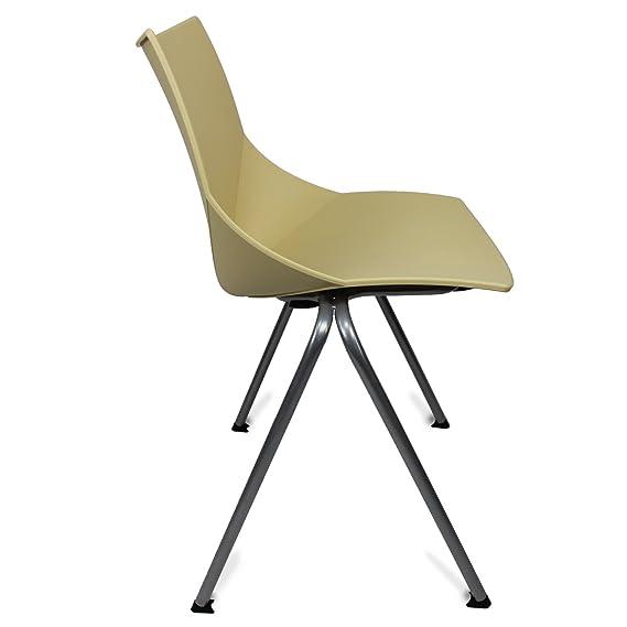 Amazon.com: glodea Shell al aire última intervensión silla ...