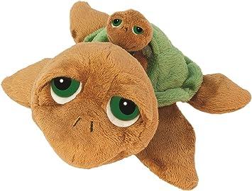 Lil Peepers 14183 Sandy - Tortuga de peluche con su bebé (29,