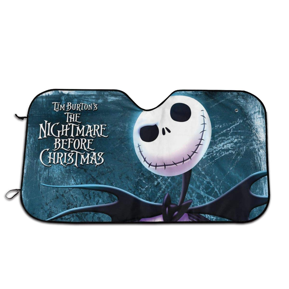 Hguftu5du The Nightmare Before Christmas Universal Windshield Sunshade 27.5x51 Inch Car Sun Visor Seat Sunscreen by Hguftu5du