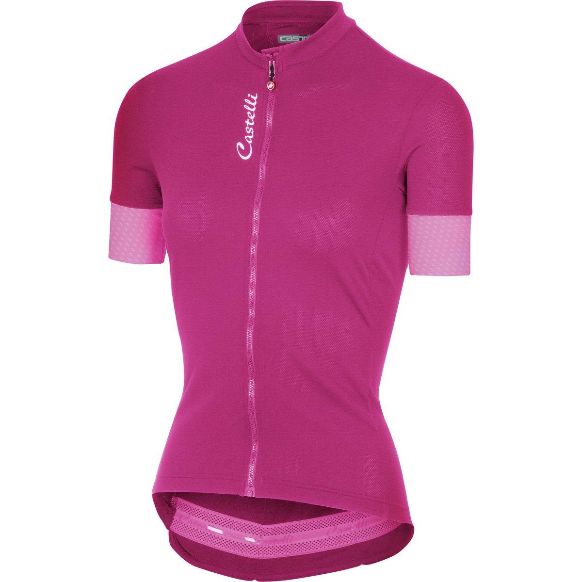 Castelli Anima 2 Jersey FZ B07955WQ8X  alba pink X-Large