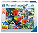 Ravensburger Tropical Birds Large Format 300 Piece Jigsaw Puzzle for Adults - Every Piece is Unique, Softclick Technology Means Pieces Fit Together Perfectly