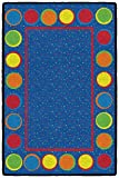Flagship Carpets CE306-08W Sitting Spots Primary Mat, Multi