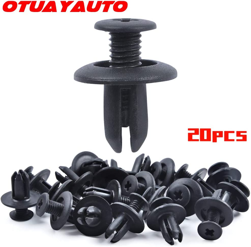 50pcs Nylon Bumper Fender Spoilers Head Lamps Clip for Mazda Miata Speed6 CX-7