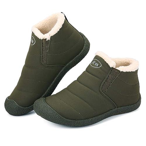 Mujer Libre Gracosy Cortas Nieve Invierno Fur Aire Botas Zapatos RSr7gR