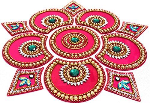Amba handicraft rangoli home decor diwali gift for home amba handicraft rangoli home decor diwali gift for home interior handcrafted floor stickers wall stickers wall decoration floor decoration ppazfo