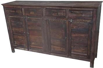 Credenza con legno di recupero - Mobili etnici per Arredamento ...