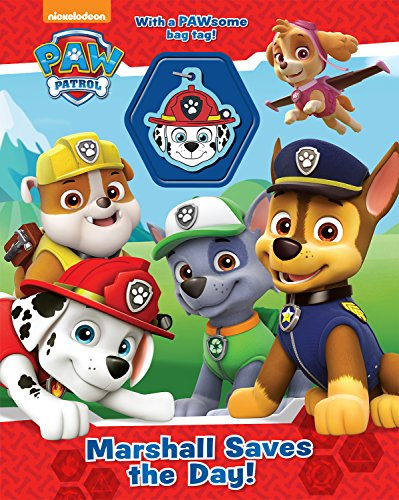 Nickelodeon Paw Patrol Marshall Saves the Day! (Charm Book)