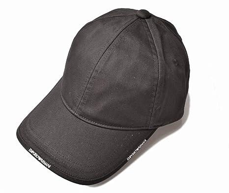 92c83d1cfd7 Emporio Armani - Casquette de Baseball - Homme Noir Noir Taille Unique