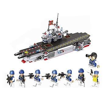 8 Angle Avec Porte Avions Compatible 1 L'équipe De Modèle Lego En UzqpLMVSG