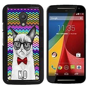 Dragon Case - FOR Motorola G 2ND GEN II - Need not be anyone understood - Caja protectora de pl??stico duro de la cubierta Dise?¡Ào Slim Fit