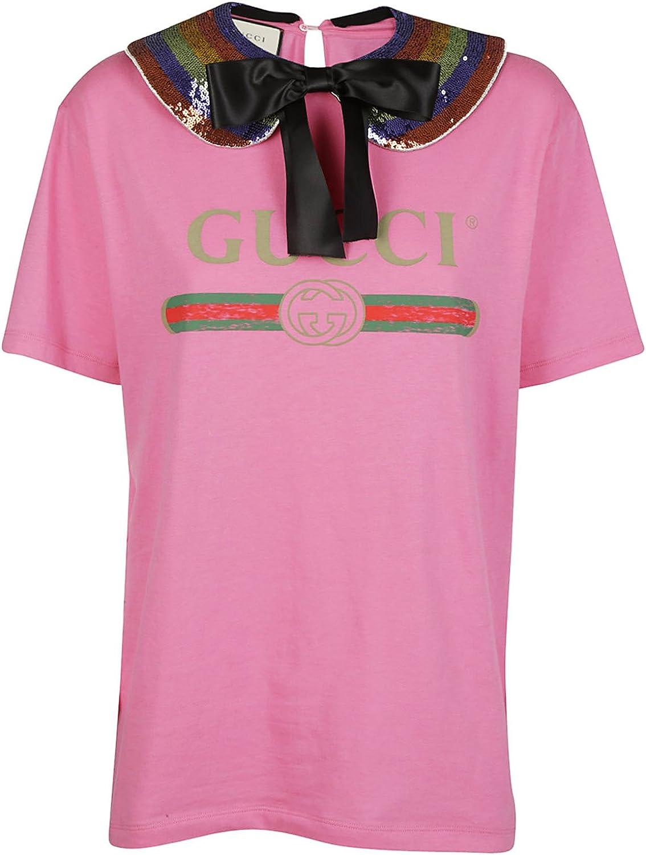 Gucci - Camiseta - para Mujer Rose M: Amazon.es: Ropa y accesorios