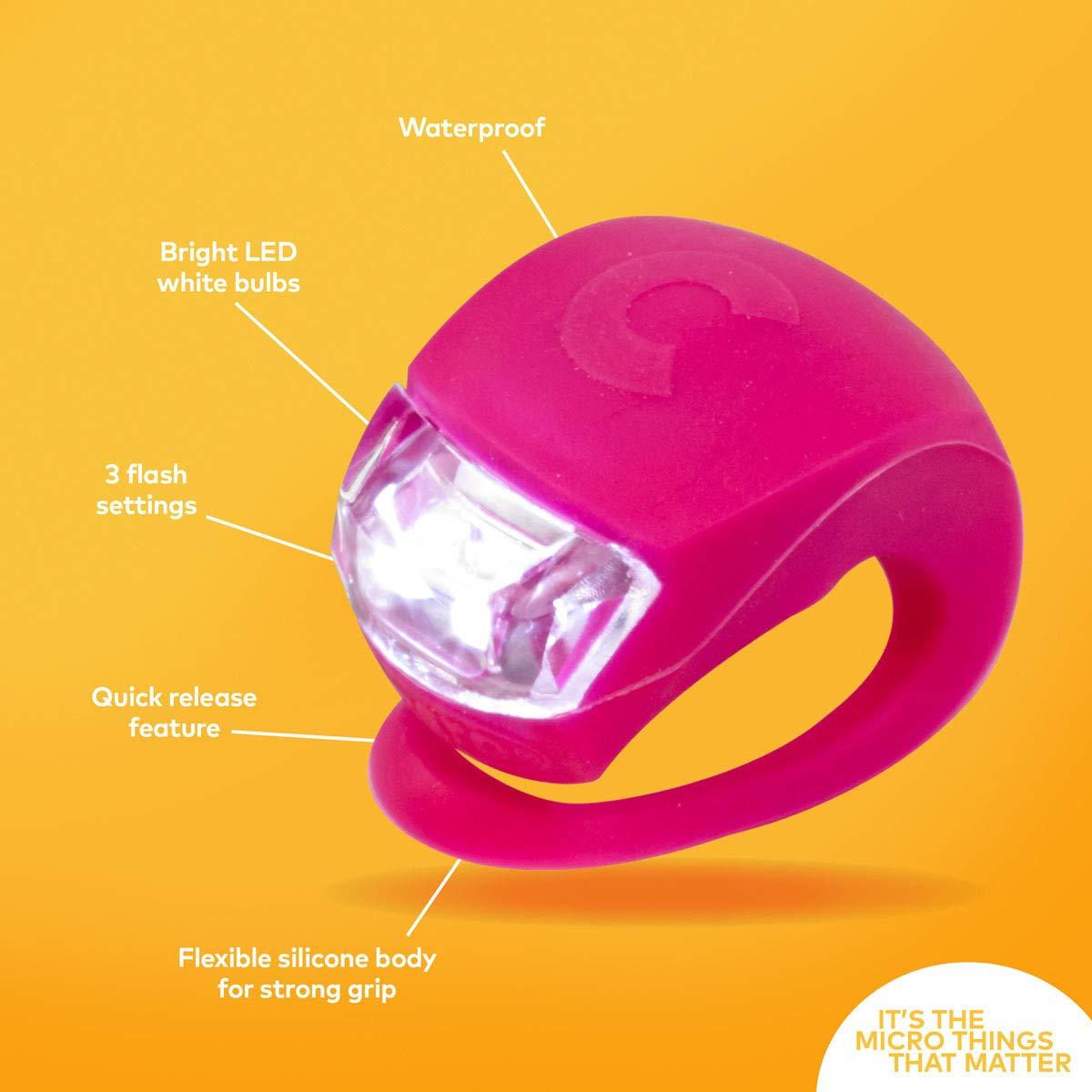 MICRO LED Luz de Seguridad Ciclismo Infantil