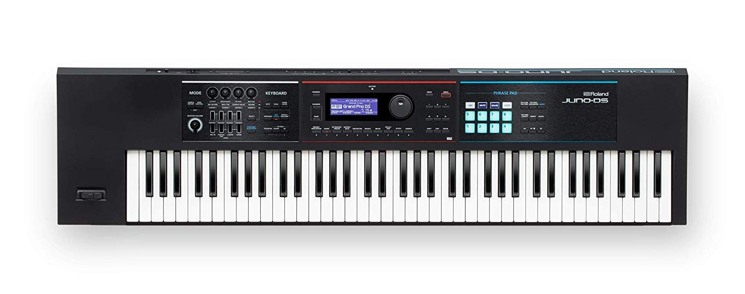 Roland Lightweight, 76-note Synth-action Keyboard with Pro Sounds (JUNO-DS76) by Roland