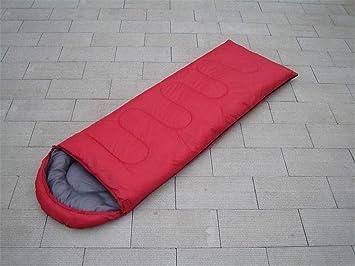 baijuxing Saco de Dormir con Sombrero al Aire Libre Camping Solo Impermeable 0.7KG Saco de Dormir 75 + 180 + 30cm: Amazon.es: Hogar