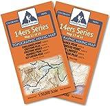 Colorado 14ers Series Sangre de Cristo Range Map Pack
