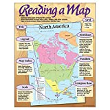 TREND enterprises, Inc. Reading a Map Learning Chart, 17'' x 22''