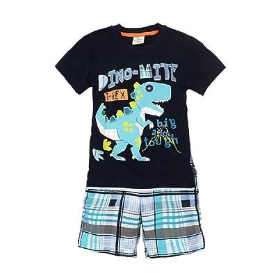 Hooyi - Ensemble de pyjama - Bébé (garçon) 0 à 24 mois Bleu bleu