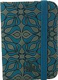 Haiku Trek RFID Passport Sleeve (Sea Blue Geo Print)