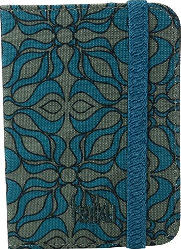 Haiku Trek RFID Passport Sleeve (Sea Blue Geo Print) by Haiku