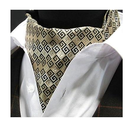 NANIH Home Corbata de Punto con Cuello en V y Tejido de Jacquard ...