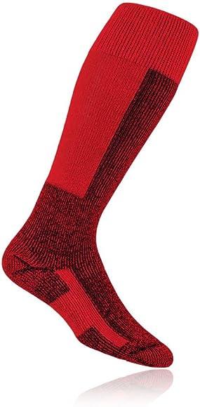 Thorlo Fully Padded Mens Womens Black Knee Height Outdoors Warm Ski Socks