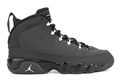 Nike Air Jordan 9 Retro BG 302359-013 AnthraciteWhiteBlack Kids Basketball