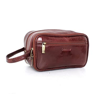 9577b60820 Ashwood Chelsea 2080 Leather Wash Bag  Amazon.co.uk  Clothing