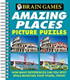 Brain Games® Picture Puzzles: Amazing Places - How Many Differences Can You Spot While Boosting Your Travel Trivia? (Brain Games (Unnumbered))