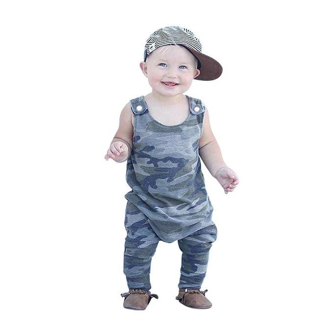 Amazon.com: ieason recién nacido niños bebé Niños Ropa sin ...