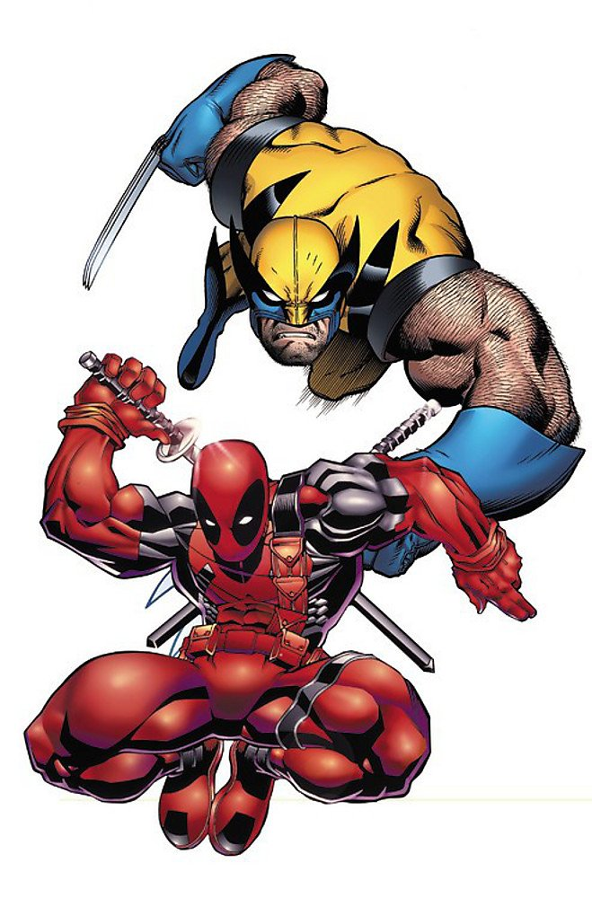 Download Marvel Universe Deadpool & Wolverine (Marvel Adventures/Marvel Universe) pdf