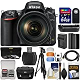 Nikon D750 Digital SLR Camera & 24-120mm f/4 VR Lens 64GB Card + Case + Battery & Charger + Grip + Tripod + Filters + Kit
