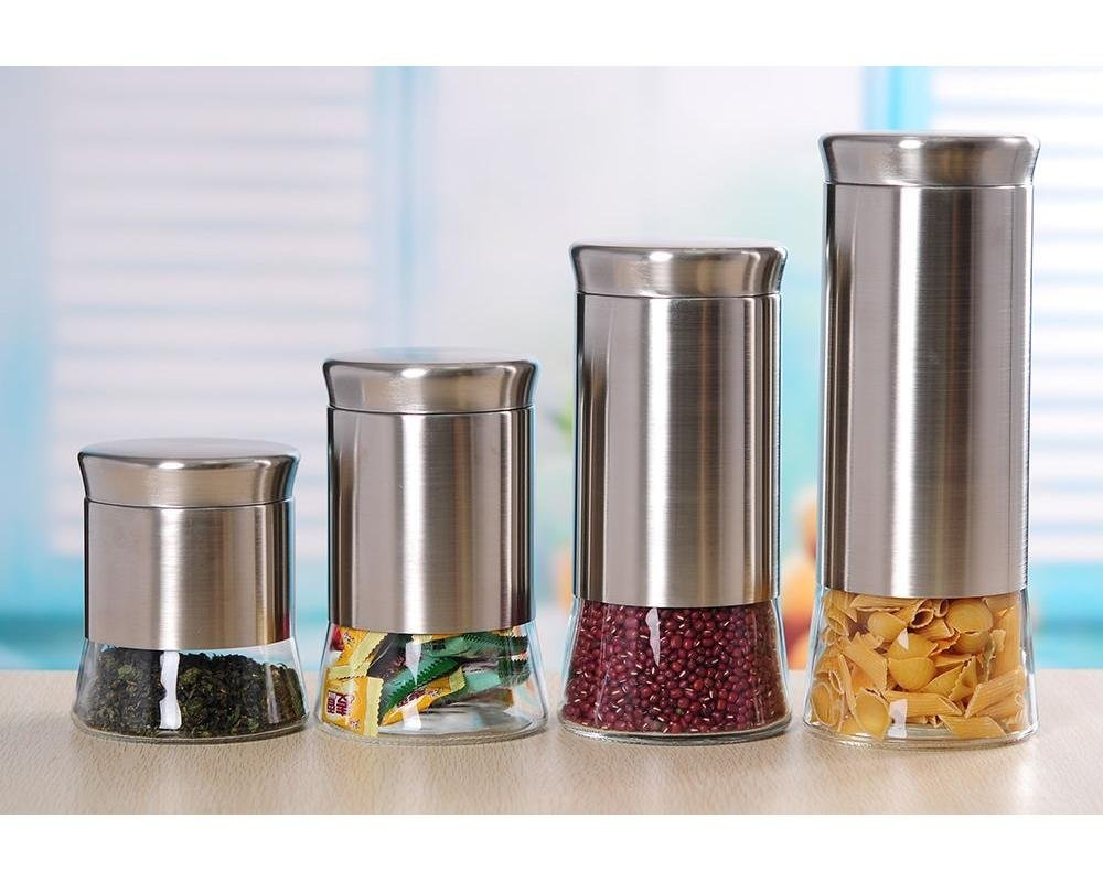 100 glass kitchen canister set 100 glass kitchen canisters