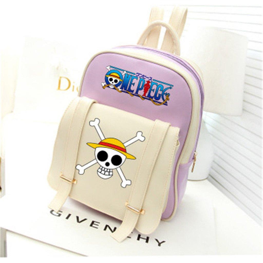 lovely YOYOSHome Anime One Piece Cosplay PU Satchel Shoulder Bag Backpack  School Bag 271762bc6e