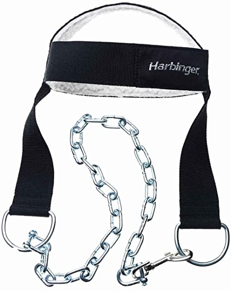 Amazon Com Harbinger Padded Nylon Head Harness Sports Outdoors