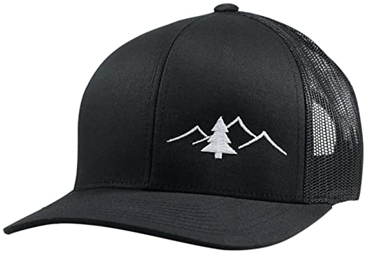 Amazon.com  Lindo Trucker Hat - Great Outdoors Collection (Black ... 17ecf9d0de4